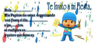 Invitaciones De Cumpleanos De Pocoyo Para Imprimir Gratis Imagui