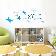 East Urban Home Baby Name Kid Room Nursery Wall Decal Wayfair