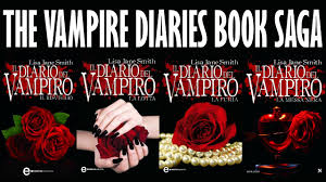 THE VAMPIRE DIARIES BOOK SAGA - YouTube