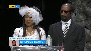 My son was a great man' - Nipsey Hussle's parents remember him - ABC7 New  York