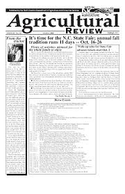 agricultural review state
