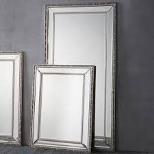 leaner mirror marlebone pewter
