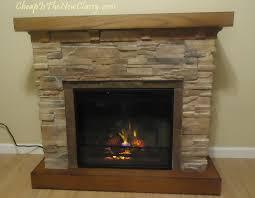 classic flame flagstone electric