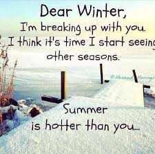 bye bye winter winter humor snow quotes funny winter jokes