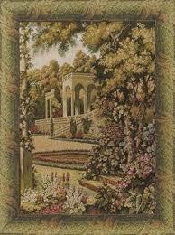 lake como gardens italian wall tapestry