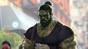 professor hulk man bun 4k wallpapers