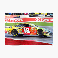 Kyle Busch Racing On 2 Wheels Sticker By Therod Redbubble