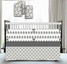 about elephant crib bedding