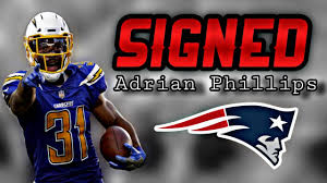 Patriots Sign Pro Bowl Safety Adrian Phillips - YouTube