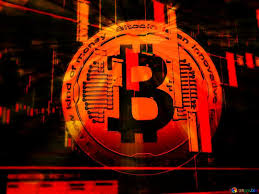 Download free picture Bitcoin red concept background on CC-BY ...