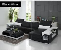 genuine leather corner sofas modern