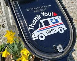 Usps Decal Etsy