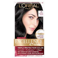 excellence creme permanent hair color