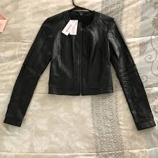 ivonne faux leather jacket