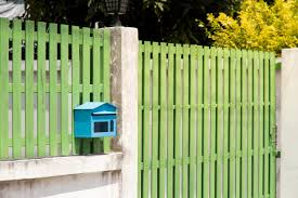 Premium Photo Mailbox In Front Of The House And Gate With Sunlight And Beautiful Natural Background