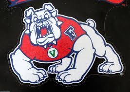 California State University Fresno Bulldogs Die Cut Dec