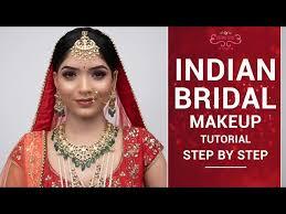indian bridal makeup tutorial step