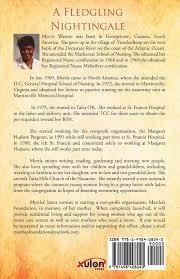 A Fledgling Nightingale: Watson, Myrtle Thomas: 9781498408240: Amazon.com:  Books