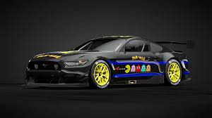 Pac Man Ford Mustang Car Livery By Scottjr123 Community Gran Turismo Sport