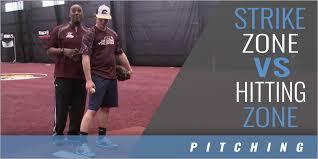 Strike Zone vs Hitting Zone – Byron Embry – Pitching 101 – Coaches Insider