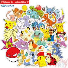 ❉ Pokemon Go - Series 04 Anime Stickers ❉ 50Pcs/Set DIY Fashion ...