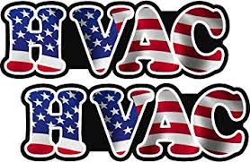 Amazon Com Lpf Usa 2 3 Hvac Heating American Flag Hard Hat Sticker Window Glass Decal Sticker Automotive