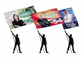 Bandeiras Para Campanha Política (50 Unidades) - R$ 700,00 em ...