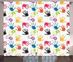 Colorful Children Curtain