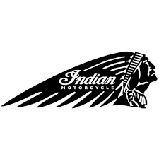 Indian Motorcycle Warbonnet Decal Indian Decal Thriftysigns