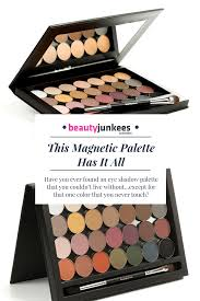 this magnetic makeup palette has it all