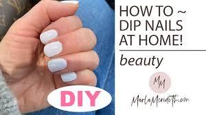 how to diy dip powder polish at home