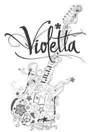 Kleurplaten Violetta Knutsel Frutsel Jouwweb Be