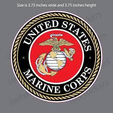 My Son Is A Marine Corps Usmc Ega Bumper Sticker Window Decal