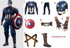 dress like captain america costume