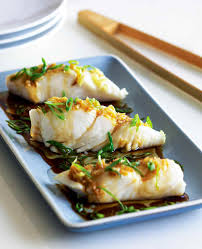 Steamed Halibut with Ginger Recipe ...