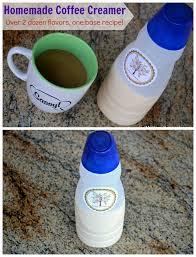 homemade coffee creamer over 2 dozen