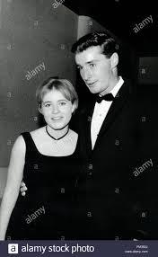 Patty Duke and date Tim Considine, circa 1964. File Reference # 1139 004THA  Stock Photo - Alamy