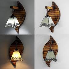 light tiffany style wall lamp