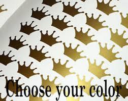 100 Gold Crown Wall Decal Princess Sticker Nursery Girls Room Vinyl Yeti Cup Ebay
