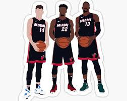 Miami Heat Sticker Etsy