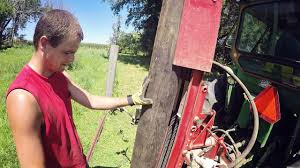 New Shaver Post Pounder 3 Point Tractor Mount Youtube