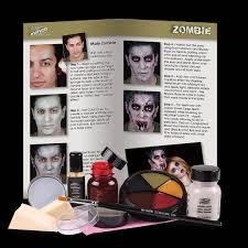 complete makeup kit zombie prosthetic