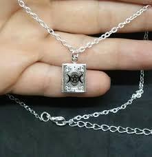 triple moon dess pendant necklace
