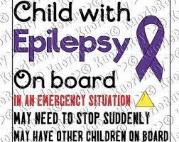 Epilepsy Decal Etsy
