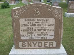 Gladys Ada Snyder (1904-1985) - Find A Grave Memorial