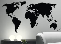 Map Of World Wall Sticker Independencefest Org