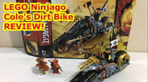 LEGO Ninjago Cole's Dirt Bike 70672 Review and an Announcement ...