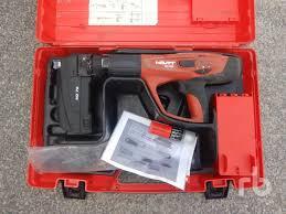 hilti dx460mx72 nail and bolt gun