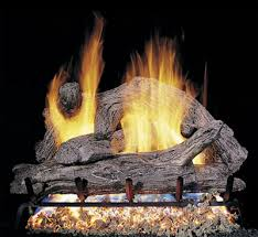 vented gas log fireplaces with