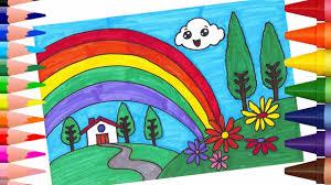 رسم منظر طبيعي للاطفال اجمل رسومات المناظر الطبيعية كلام نسوان